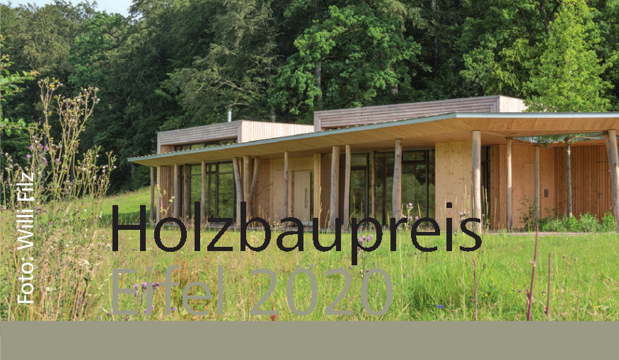Auslobung Holzbaupreis Eifel 2020