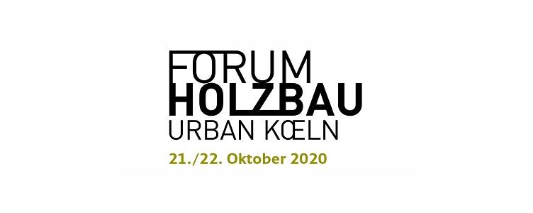 13. Kongress EBH 2020 – Effizientes Bauen mit Holz im urbanen Raum