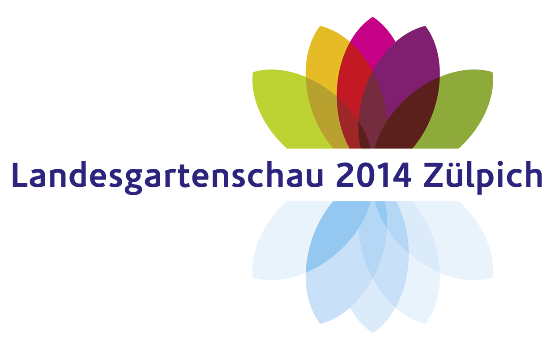 Logo der Landesgartenschau 2014 Zülpich