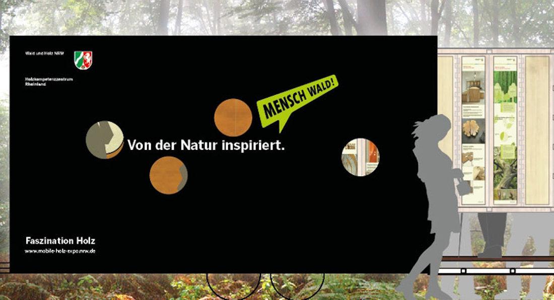 Grafik Mobile Holz-Expo NRW